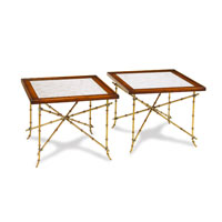 John Richard John Richard Furniture Cocktail Table in Eglomise EUR-03-0294 photo thumbnail