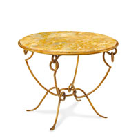 John Richard John Richard Furniture Center Table in Hand-Painted EUR-03-0298