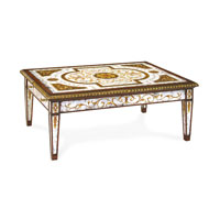 John Richard John Richard Furniture Cocktail Table in Hand-Painted EUR-03-0308
