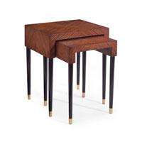 John Richard John Richard Furniture Side Table in Medium Wood EUR-03-0347