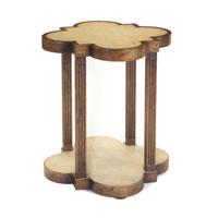 John Richard John Richard Furniture Side Table in Dark Wood EUR-03-0348