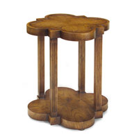 John Richard John Richard Furniture Side Table in Medium Wood EUR-03-0349