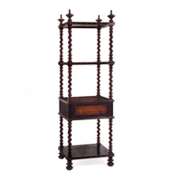 John Richard Etagere Accent Furniture in Medium Wood EUR-04-0058