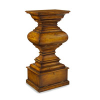 John Richard Pedestal Accent Furniture in Medium Wood EUR-04-0093