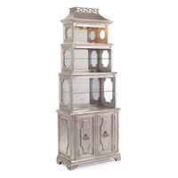 John Richard Furniture Hand-Painted Cabinet