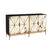 John Richard EUR-04-0164 John Richard Furniture Antiqued Mirror Cabinet