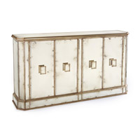 John Richard EUR-04-0169 John Richard Furniture Antiqued Mirror Cabinet