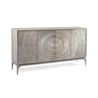 John Richard EUR-04-0423 Cosmos Silver White and Grey Oak Cabinet