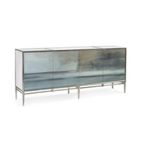 Signature Slated Credenza, Four Door