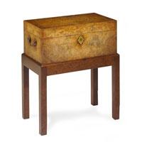 John Richard Box Accent Furniture in Medium Wood EUR-08-0020