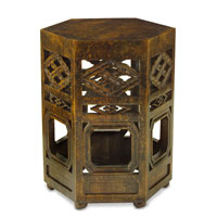 John Richard Furniture 20 X 20 inch Dark Wood Occasional Table Home Decor