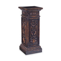 John Richard Pedestal Accent Furniture in Dark Wood EUR-08-0031