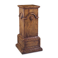 John Richard Pedestal Accent Furniture in Light Wood EUR-08-0033