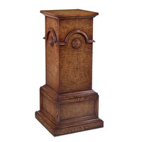 John Richard Pedestal Accent Furniture in Light Wood EUR-08-0034