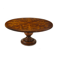John Richard EUR-10-0005 Villa 72 inch Hand-Painted Dining Table Home Decor photo thumbnail