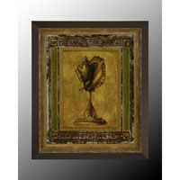 John Richard Architectural Wall Decor Oils And Original Art in Black and Gold GBG-0362B