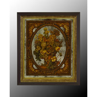 John Richard Botanical/Floral Wall Decor Oils And Original Art in Black and Gold GBG-0364A