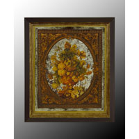 John Richard Botanical/Floral Wall Decor Oils And Original Art in Black and Gold GBG-0364B