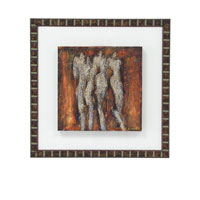 John Richard Figurative Wall Decor Giclees in Metalic Gold GBG-0548A