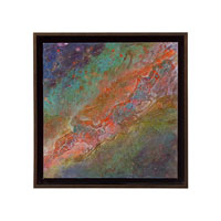 John Richard Abstract Wall Decor Giclees in Bronze GBG-0550A