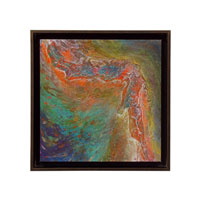 John Richard Abstract Wall Decor Giclees in Bronze GBG-0550B