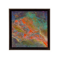 John Richard Abstract Wall Decor Giclees in Bronze GBG-0550D