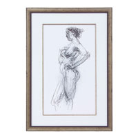 John Richard Figurative Wall Decor Giclees in Bronze GBG-0551