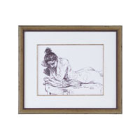 John Richard Figurative Wall Decor Giclees in Bronze GBG-0552