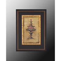 John Richard Architectural Wall Decor Open Edition Art in Gold Leaf GRF-3571A photo thumbnail