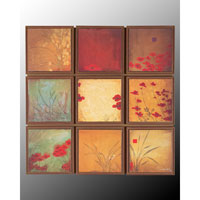 John Richard Panels Wall Decor 3D Art in Bronze GRF-3841