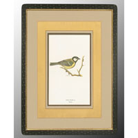 John Richard Animal Wall Art - Print in Black and Gold  GRF-4082A