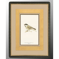John Richard Animal Wall Art - Print in Black and Gold  GRF-4082B