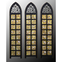 John Richard Panels Set of 3 Wall Decor 3D Art GRF-4235S3