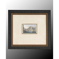 John Richard Landscape Wall Decor Open Edition Art in Dark Wood GRF-4244A
