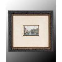 John Richard Landscape Wall Decor Open Edition Art in Dark Wood GRF-4244B