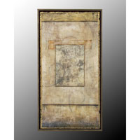 John Richard Panels Wall Decor 3D Art in Black and Gold GRF-4251A