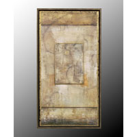 John Richard Panels Wall Decor 3D Art in Black and Gold GRF-4251B