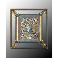 John Richard Architectural Wall Decor 3D Art in Hand-Colored GRF-4317A