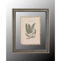 John Richard Botanical/Floral Wall Decor Open Edition Art in Antique Silver GRF-4369A photo thumbnail