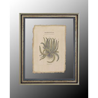 John Richard Botanical/Floral Wall Decor Open Edition Art in Antique Silver GRF-4369D