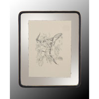John Richard Botanical/Floral Wall Decor Open Edition Art in Black and Cream GRF-4400B