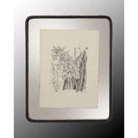 John Richard Botanical/Floral Wall Decor Open Edition Art in Black and Cream GRF-4400C
