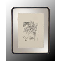 John Richard Botanical/Floral Wall Decor Open Edition Art in Black and Cream GRF-4400D