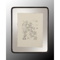 John Richard Botanical/Floral Wall Decor Open Edition Art in Black and Cream GRF-4400E