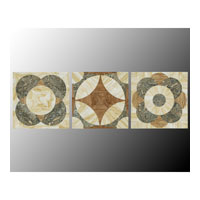 John Richard Panels Set of 3 Wall Decor 3D Art GRF-4448S3