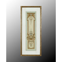 John Richard Architectural Wall Decor Open Edition Art in Hand-Colored GRF-4475A