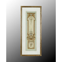 John Richard Architectural Wall Decor Open Edition Art in Hand-Colored GRF-4475B