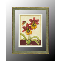 Botanical/Floral Hand-Colored Wall Art