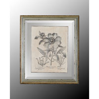 John Richard Botanical/Floral Wall Decor Open Edition Art in Crackle GRF-4488A