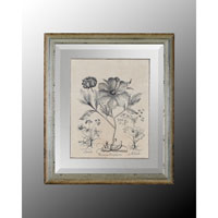 Botanical/Floral Wall Art - Print in Crackle  GRF-4488B
